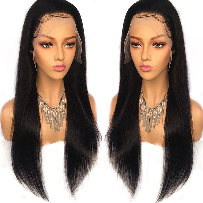 Malaysian hair 13x6 straight wig