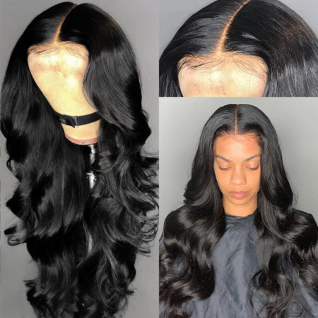 Malaysian hair 5x5 body wave wig