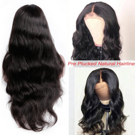 Malaysian hair 6x6 body wave wig