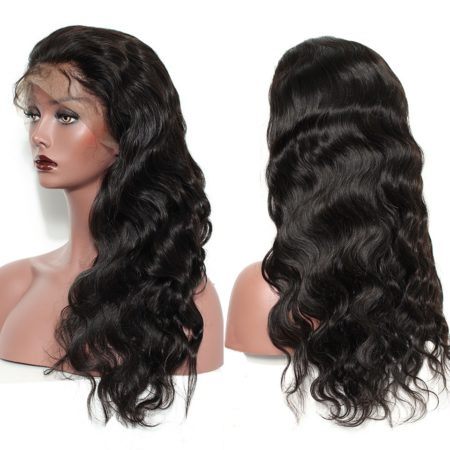 Mongolian hair 6x6 body wave wig