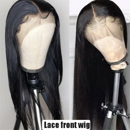 Mongolian hair 6x6 straight wig