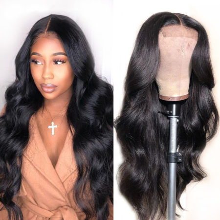 Peruvian hair 13x4 body wave wig