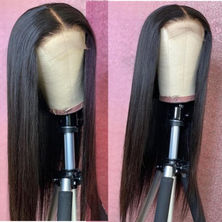 Peruvian hair 13x4 straight wig