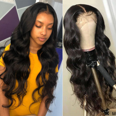 Peruvian hair 4x4 body wave wig