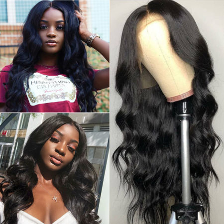 Russian hair 5x5 body wave wig