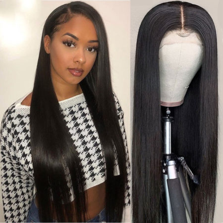 Russian hair 6x6 straight wig