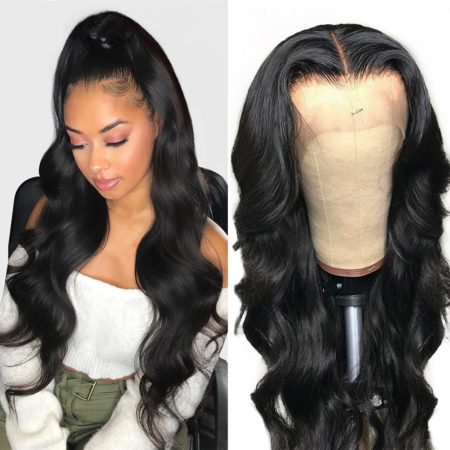 Russian hair full lace body wave wig