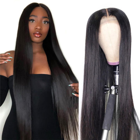 Russian hair full lace straight wig