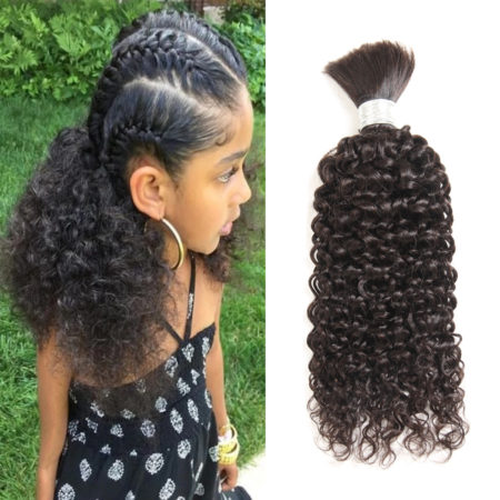 Brazilian curly braiding hair