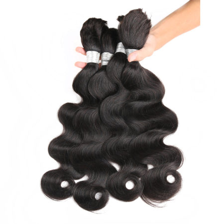 Indian Body wave braiding hair