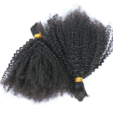 Indian kinky curly braiding hair