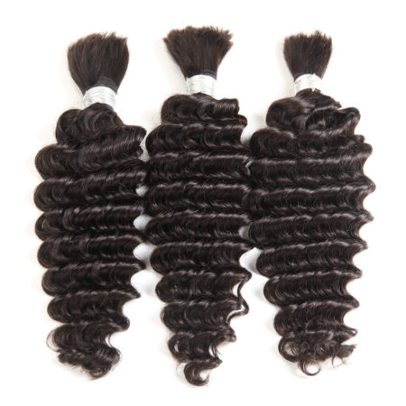 Malaysian deep wave braiding hair
