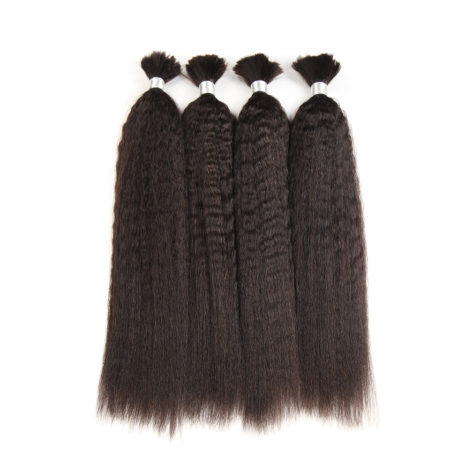 Malaysian kinky straight braiding hair