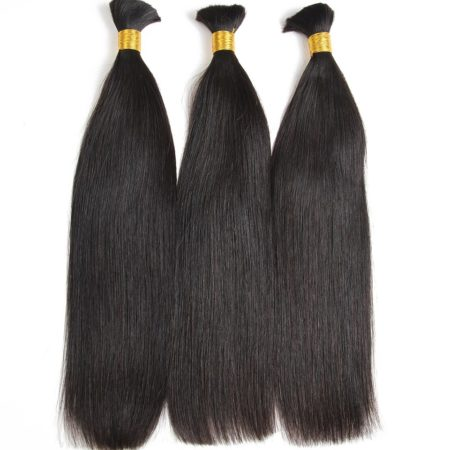 Brazilian straight braiding hair
