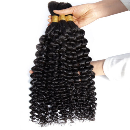Mongolian wet and wavy braiding hair