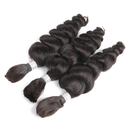 Peruvian loose wave braiding hair