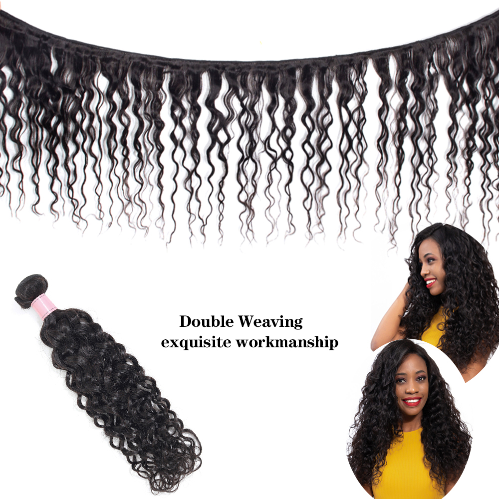 malaysian hair bundles water wave des4