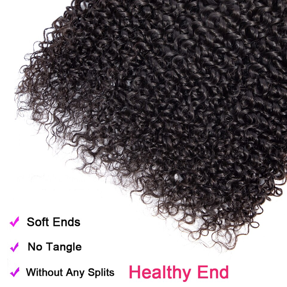 kinky curly peruvian hair bundles des4