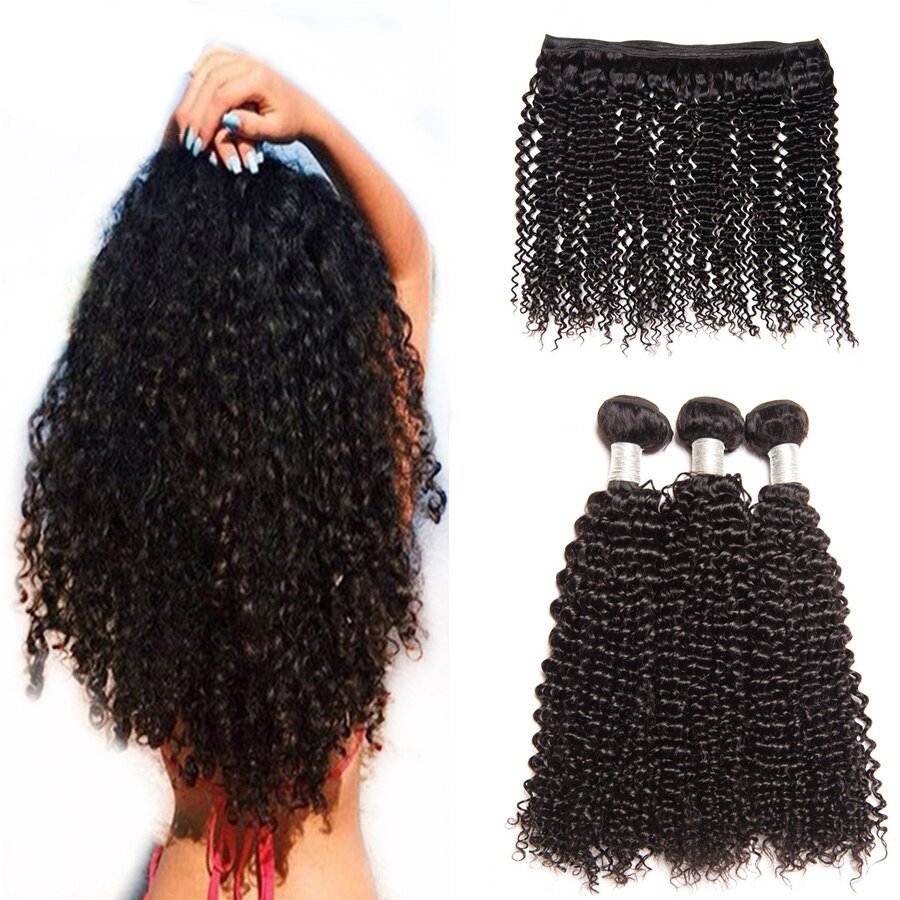 kinky curly peruvian hair bundles des5